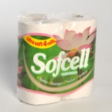 2 Ply Soft Cell Luxury White Toilet Roll x 40